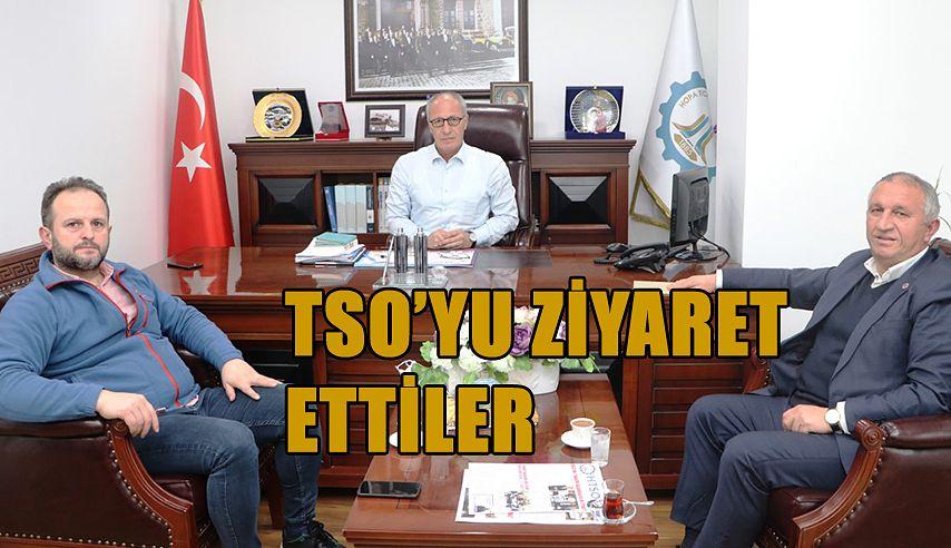 BAŞKANDAN HOPA TSO'YA ZİYARET