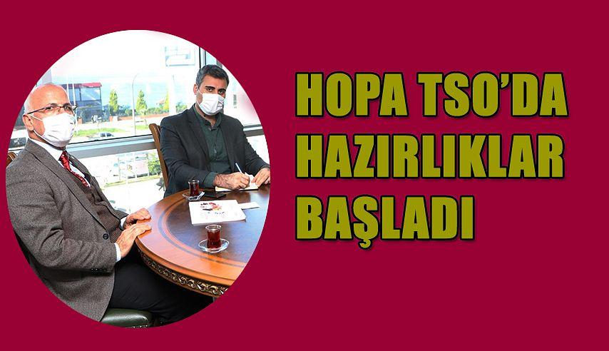 HOPA TSO'DA HAZIRLIKLARA BAŞLADI