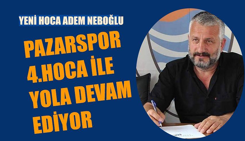 Pazarspor'da Yoğun Mesai