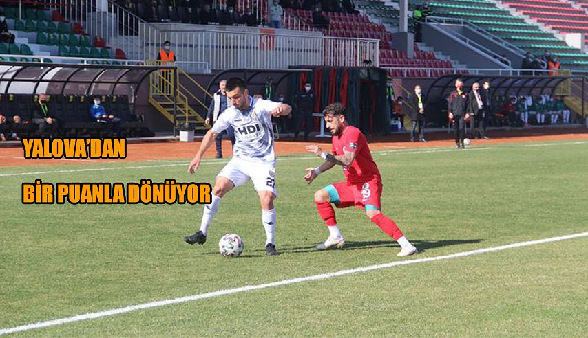 YALOVASPOR - ARHAVİSPOR MAÇ SONUCU: 0-0