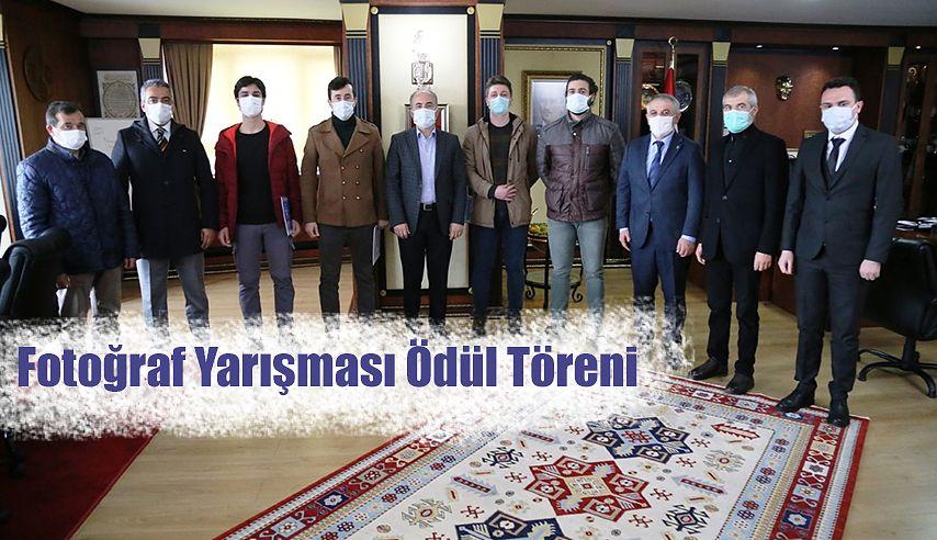 FOTOĞRAF YARIŞMASINDA ÖDÜLLER TAKDİM EDİLDİ.