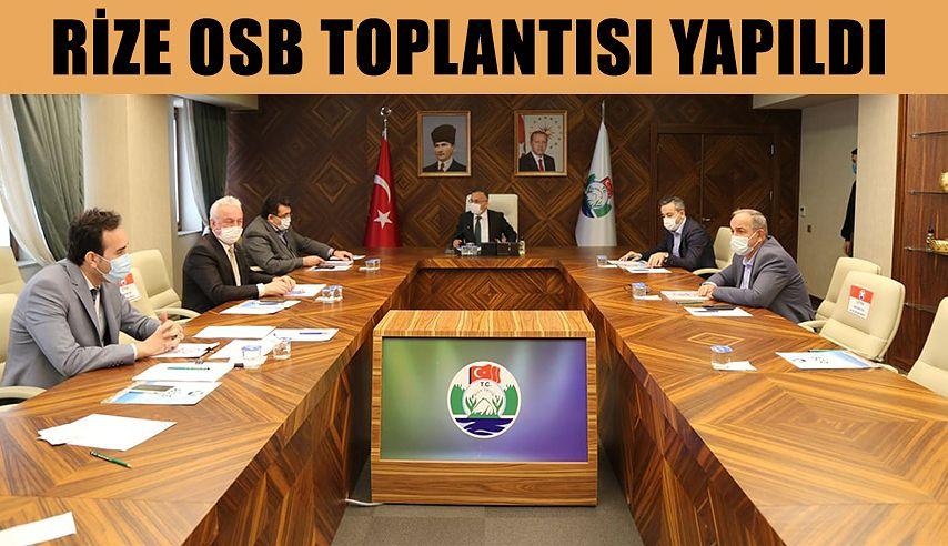 OSB Mart Ayı Yönetim Kurulu Toplantısı Yapıldı