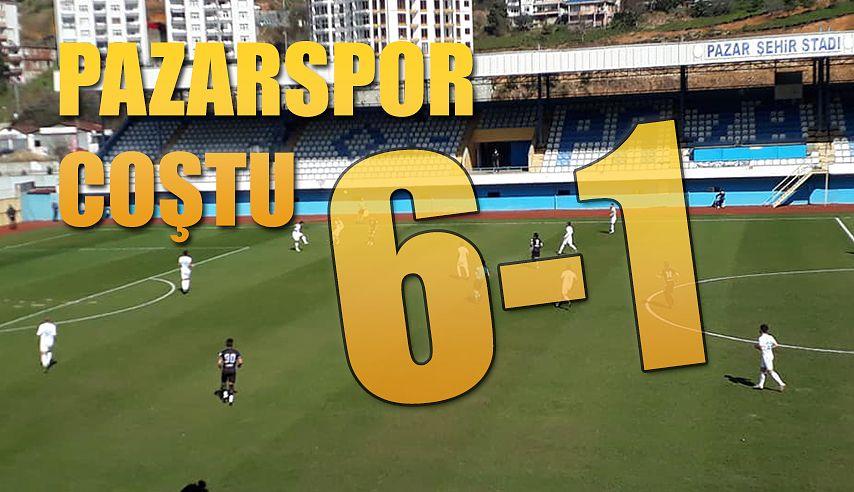 Pazarspor'dan Muhteşem dönüş 6-1