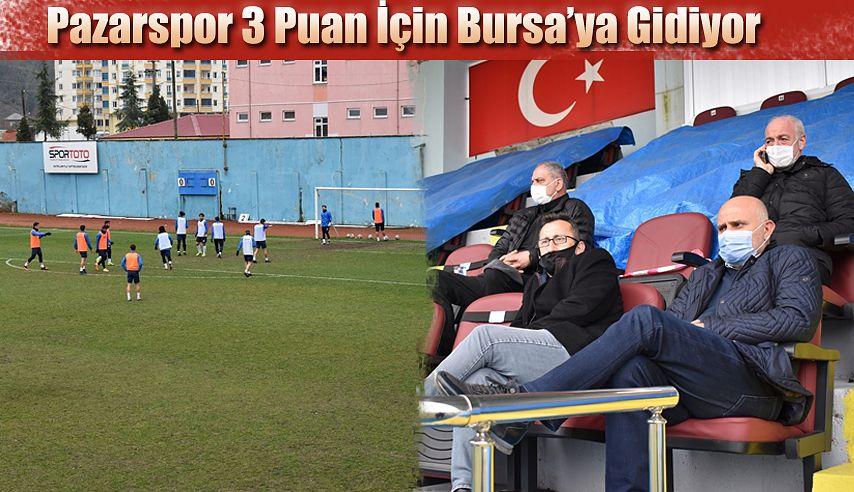 Pazarspor Karacabey maçına üç puan parolası ile gidiyor