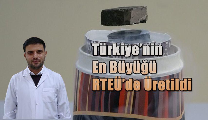 RTEÜ'de Üretildi