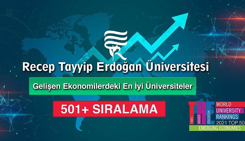 Yükselen Ekonomilerin En İyi Üniversiteleri Arasındayız!