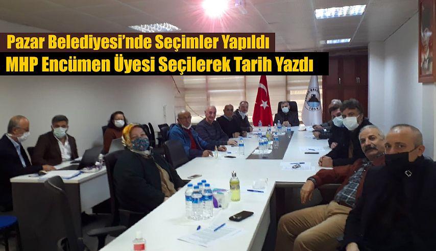 MHP Pazar'da ilkleri gerçekleştirdi.
