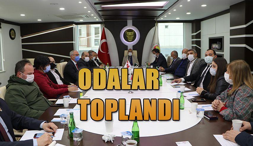 ODALAR MÜŞTEREK TOPLANTISI HOPA TSO'DA GERÇEKLEŞTİRİLDİ