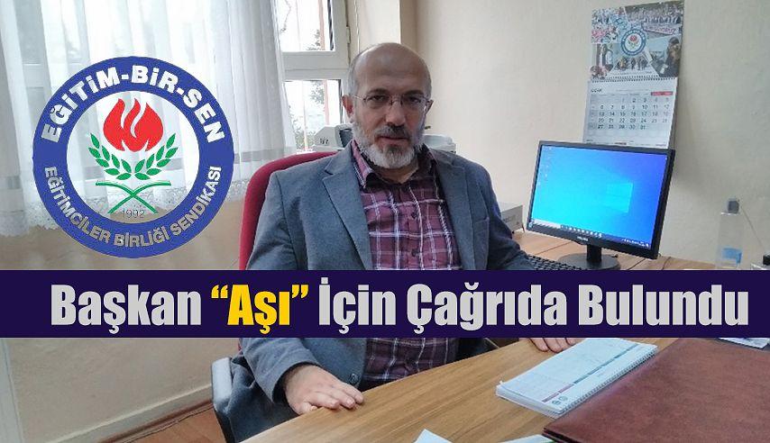 """Pazar Eğitim Bir-Sen'den, """"AŞI"""" açıklaması"""