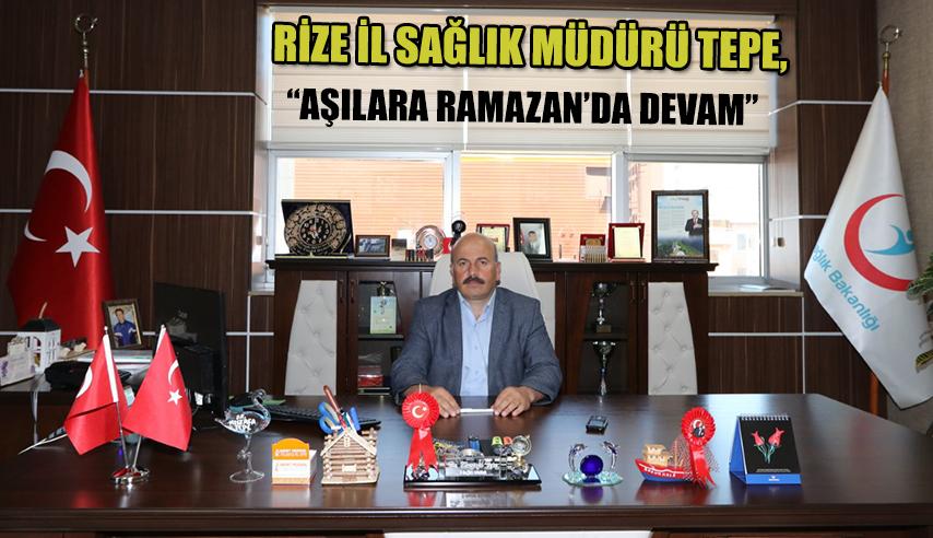 Ramazan'da aşılama hizmeti devam edecek