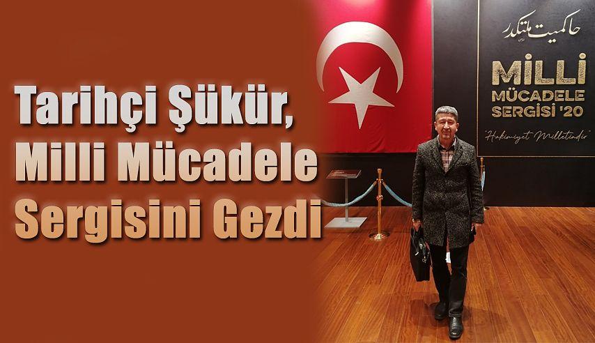 Tarihçi Rıdvan Şükür, Milli Mücadele sergisinde