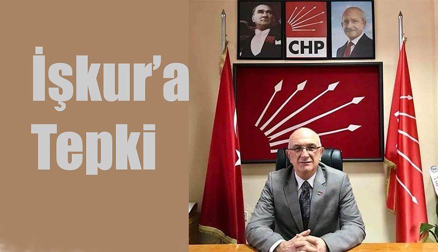 AHMET BİBER TEPKİ GÖSTERDİ.