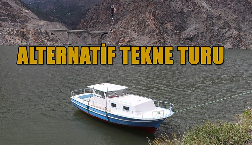 ALTERNATİF TURİZM TEKNE TURU