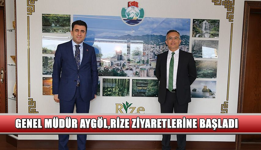 Aygöl, Vali Kemal Çeber'i Ziyaret Etti