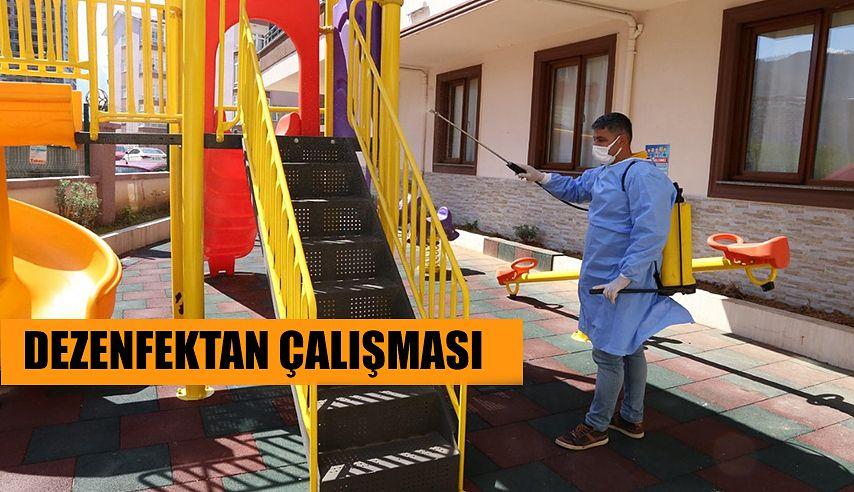 DEZENFEKTE'YE DEVAM EDİYOR.
