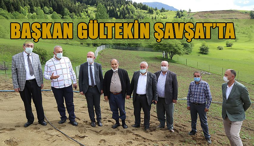 GÜLTEKİN ŞAVŞAT'I ZİYARET ETTİ.