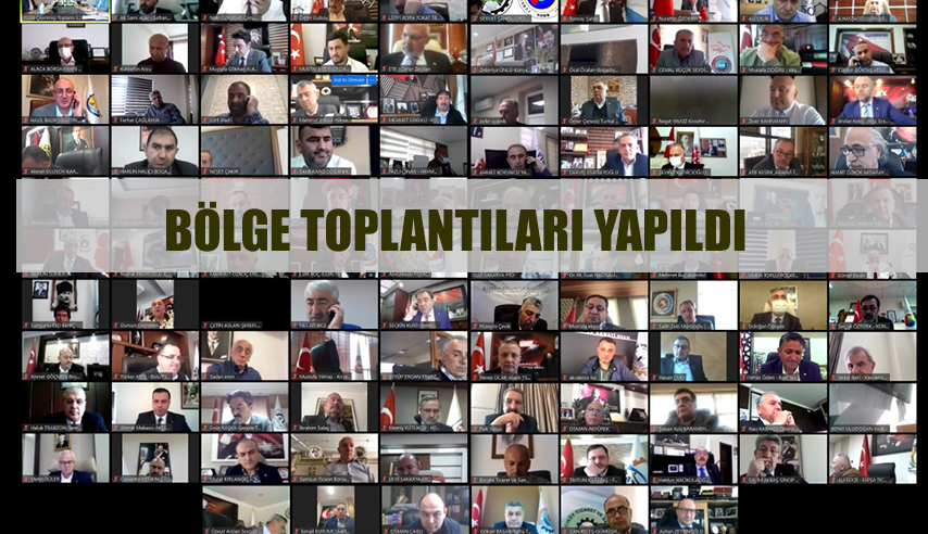 KARADENİZ VE İÇ ANADOLU TSO'LAR BÖLGE TOPLANTISI YAPILDI