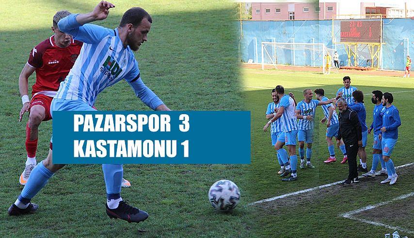 Pazarspor 3- Kasatamonuspor 1