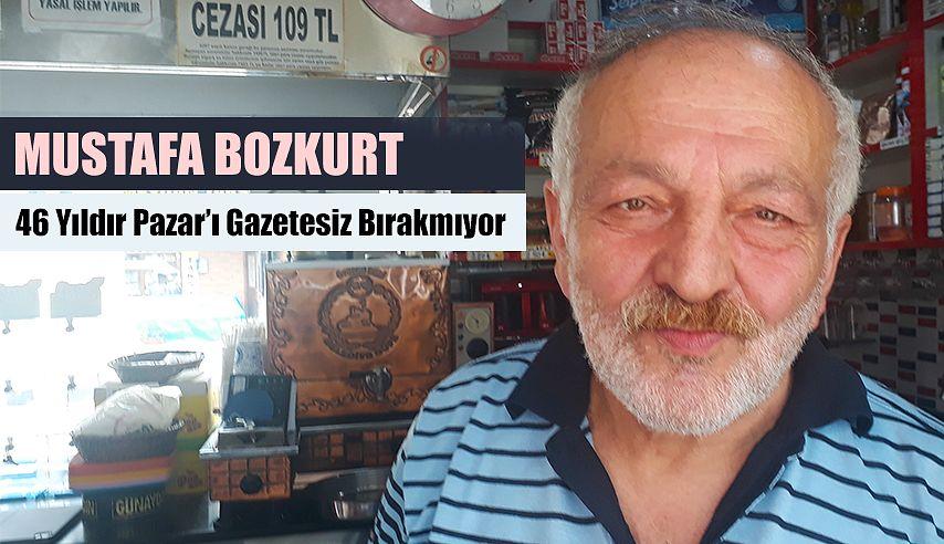 46 yıldır Pazar'ı Gazetesiz bırakmıyor.