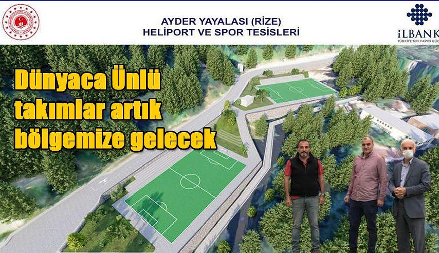 AYDER ARTIK SPOR MERKEZİ DE OLUYOR