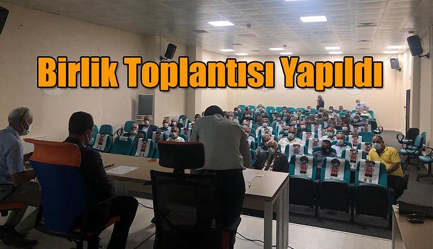 BİRLİK MECLİS TOPLANTISI YAPILDI