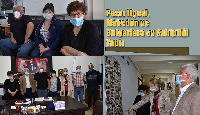 Makedon ve Bulgarlar Pazar'da