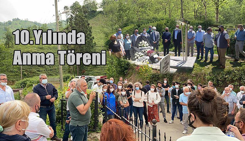 Metin Lokumcu, ölümünün 10'uncu yıl dönümünde Mezarı başında anıldı