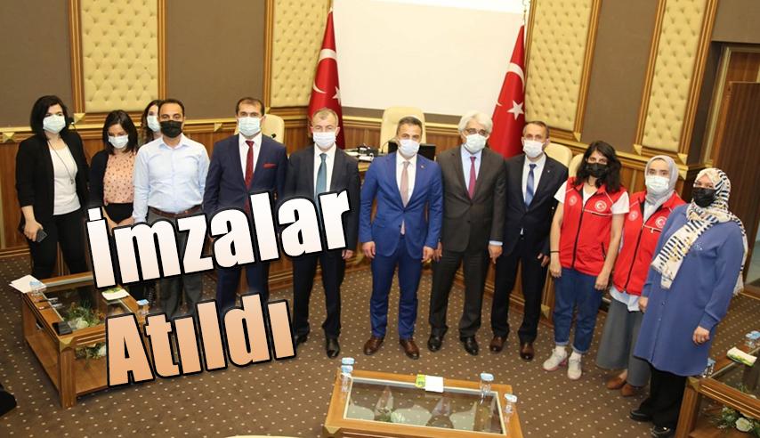 """""""OKUL BAHÇEM OYUN BAHÇEM"""" PROJESİ PROTOKOLÜ İMZALANDI"""