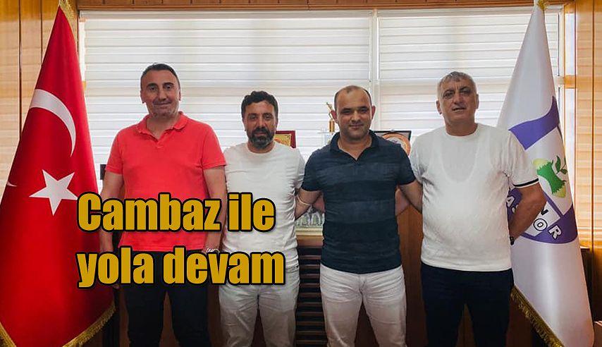 Teknik Direktör İsmail Cem Cambaz ve ekibiyle yola devam dedi.
