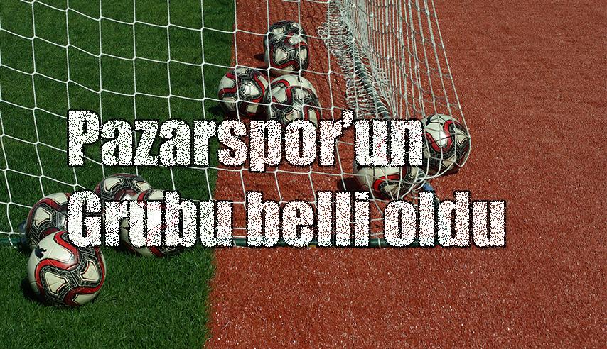 2.Lig'de Kuralar çekildi. Pazarspor 'un rakipleri belli oldu.