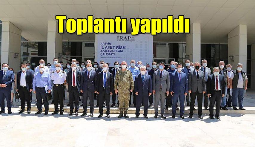 İL AFET RİSK AZALTMA PLANI (İRAP) TOPLANTISI YAPILDI
