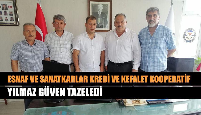 YILMAZ GÜVEN TAZELEDİ.