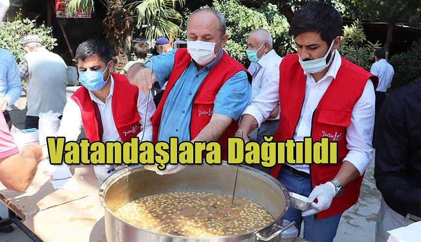 """""""AŞURE İKRAMI, BEREKETİ PAYLAŞIYORUZ"""" ETKİNLİĞİ"""