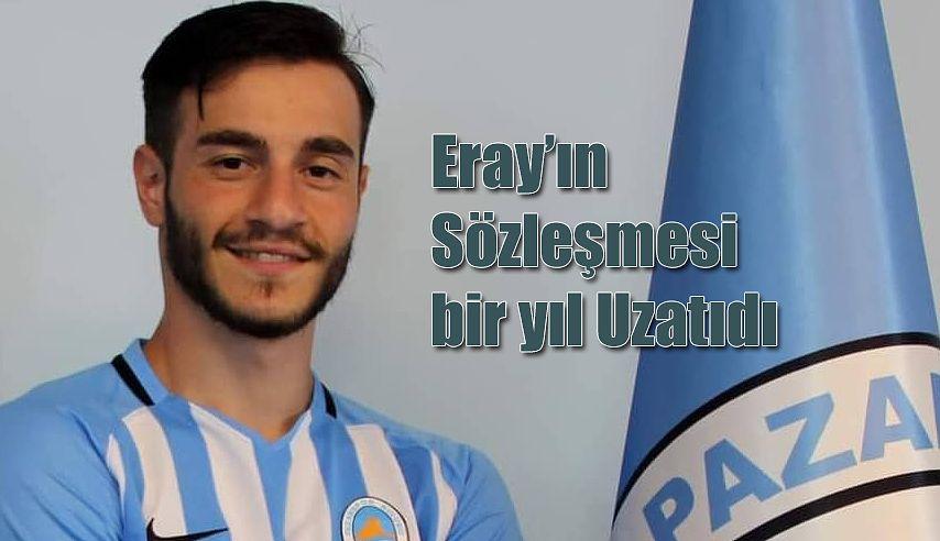 Eray Karataş bir yıl daha Pazarspor 'da
