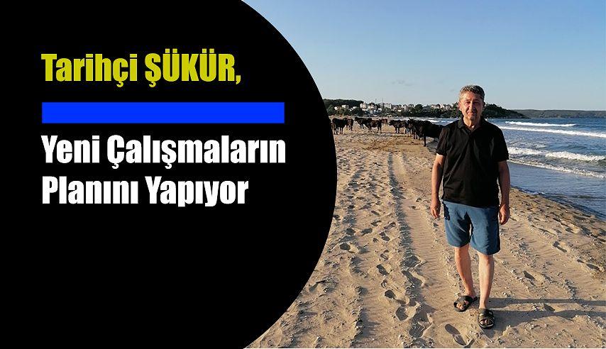 Tarihçi Rıdvan şükür, Karadeniz'in en batısı İğneada'da