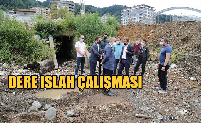 DERE ISLAH ÇALIŞMALARI DEVAM EDİYOR.