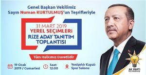 AK Parti Rize'de İlçe Belediye Başkan...