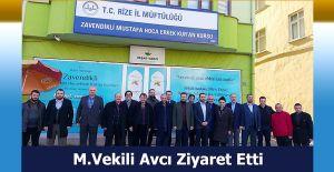 MİLLETVEKİLİ AVCI'DAN...