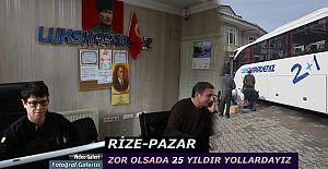 bPazar Otogarında 25 yıldır yöreye.../b