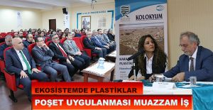 """RTEÜ'de """"Karadeniz Ekosisteminde Plastikler""""..."""