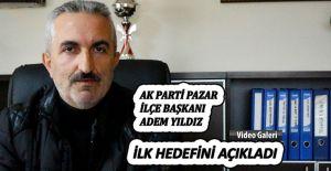 bAk Parti Pazar İlçe Başkanı Adem.../b