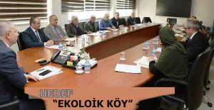 """""""BEŞPARE EKOLOJİK KÖY PROJESİ"""" BİLGİLENDİRME TOPLANTISI"""