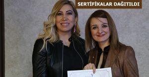 KADIN GİRİŞİMCİLER SERTİFİKALARINI ALDILAR
