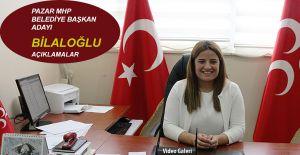 bMHP Pazar Belediye Başkan Adayı Gülşah.../b