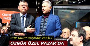 bÖzgür Özel Pazarda CHP Seçim.../b