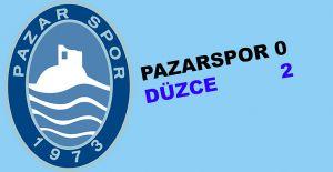 bPazarspor evinde 0-2 mağlup oldu/b
