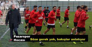 """Pazarspor """"ya tamam,veya devam"""" maçına çıkacak"""
