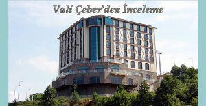 Rize Valisi Kemal Çeber, İl Emniyet Müdürlüğü Sosyal Tesislerinde ve Polis Evinde incelemelerde bulundu.