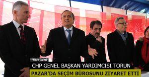 CHP Genel Başkan Yardımcısı Seyit Torun Pazar'da
