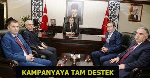 """İSTİHDAM SEFERBERLİĞİ KAMPANYASINA"" TAM DESTEK"